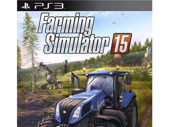 Jogo Digital Ps3 Farming Simulator 2015 Psn Envio Imediato