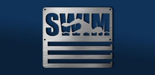 Imagen 1 de 6 de Medallero Swim Natación Personalizado Gratis