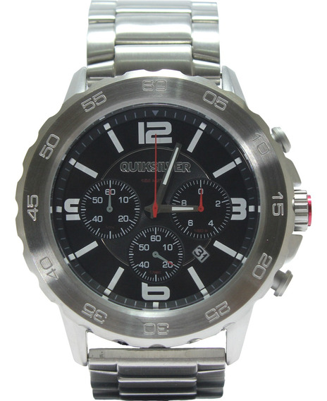 Relógio Quiksilver B 52 Original - Silver/black