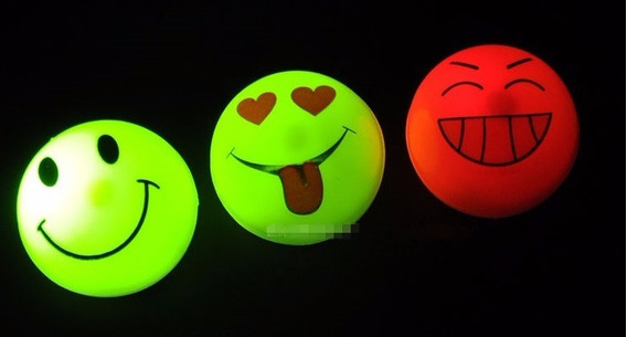 Narices Emoticon Luminosas Led. Cotillón Led Para Fiestas