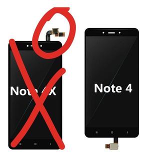 Display Xiaomi Redmi Note 4 Versión China