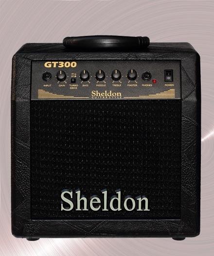 Cubo Amplificador Guitarra Sheldon Gt300 30w Rms