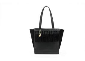 Bolsa Mormaii Tote Bag Moda Feminina C/ Franjas Em Camurça