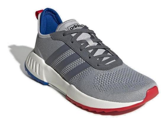 Tênis Running adidas Masculino Phosphere Eg3491 Cinza/azul