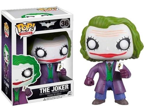 Funko Pop | Dc The Dark Knight The Joker 36 Guasón Original