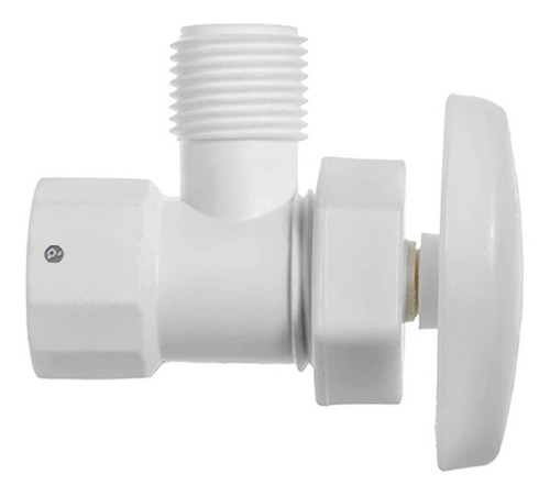 Válvula De Regulación 1/2'' Blanco.