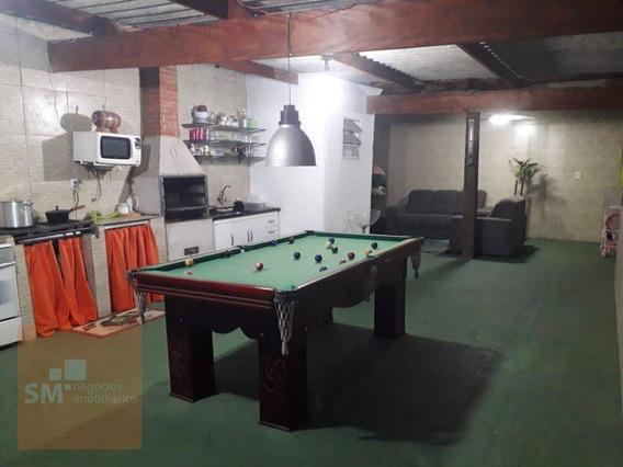 Casa Com 2 Dormitórios À Venda, 250 M² Por R$ 456.000 - Campanário - Diadema/sp - Ca0270