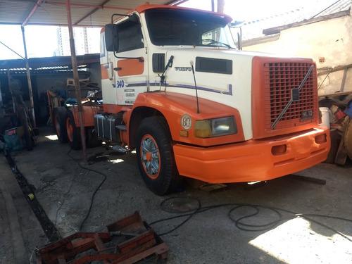 Imagem 1 de 10 de Cavalo Volvo Nl 10 340 - 1995- Truck Com Suspensor Sem Munck