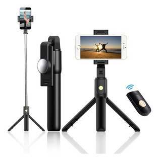 Monopod Palo Selfie Stick Bluetooth Con Tripode Celulares Cs