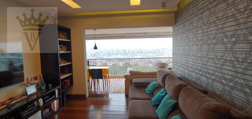 Apartamento Com 3 Dormitórios À Venda, 105 M² Por R$ 1.240.000,00 - Cambuci - São Paulo/sp - Ap5082