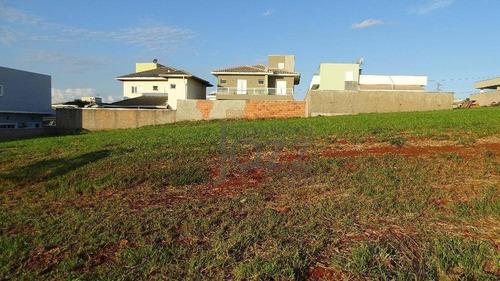 Terreno À Venda, 390 M² Por R$ 405.000,00 - Condomínio Terras Do Cancioneiro - Paulínia/sp - Te0369