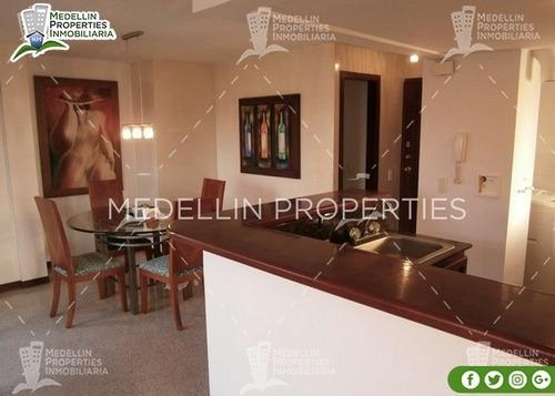 Apartamento Amoblado Medellin Por Mes  Cód: 4583