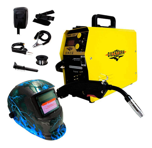 Soldadora Microalambre Inversora 120 Amp Electrodos 110v