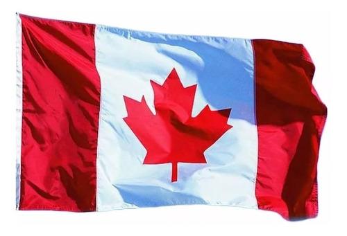 Bandeira Do Canada Pronta Entrega 150x90cm