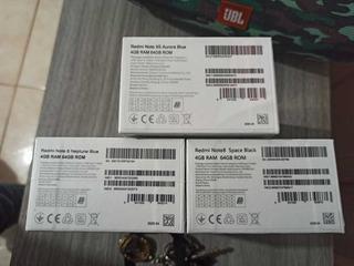 Celular Xiaomi 4/64 Gb Preto 4 Câmeras Global
