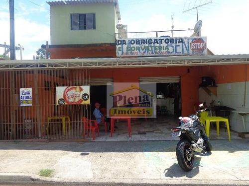 Salão  Comercial Para Locação, Jardim São Bento, Hortolândia. - Sl0259