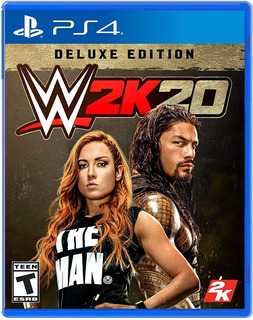 Wwe 2k20 / W2k20 / 2020 / Deluxe Edition / Ps4