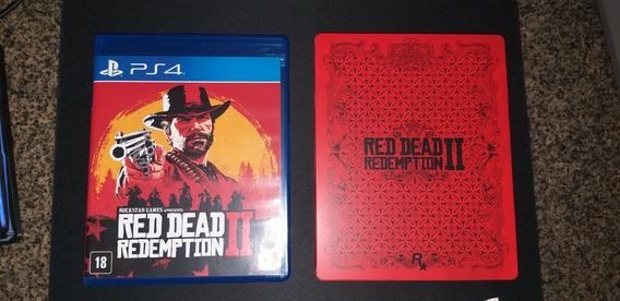 Red Dead Redemption 2 Ps4 - Edição Steelbook
