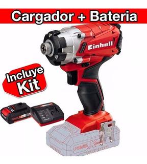 Atornillador Taladro Inalambrico Einhell Baterias Y Cargador--18 Cuotas Sin Interes