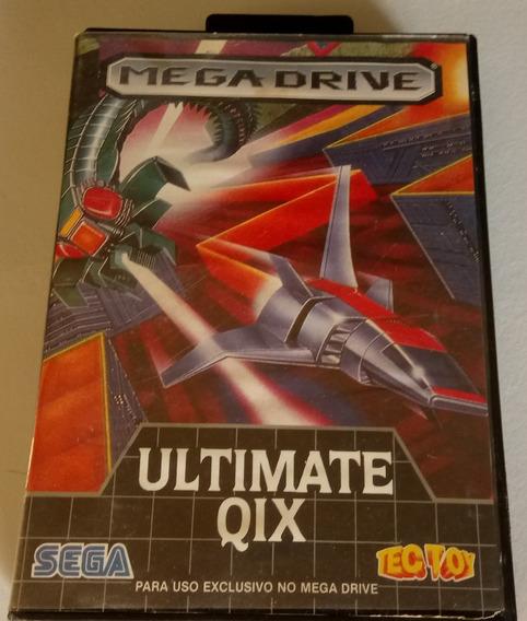 Jogo Cartucho Mega Drive Ultimate Qix Original
