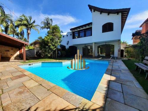 Imagem 1 de 16 de Casa Com 4 Dormitórios Sendo 2 Suítes Para Alugar, 505 M² Por R$ 11.000/mês - Alphaville 2 - Barueri/sp - Ca2056