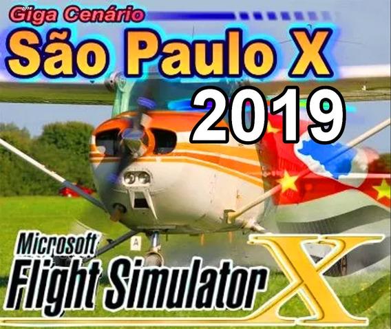 Fsx - Giga Cenário Do Estado De São Paulo O Flight Simulator