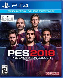 Pro Evolution Soccer 2018 Pes 18 Ps4