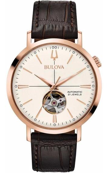 Reloj Bulova Automatico Original Para Caballero 97a136