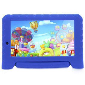 Tablet Multilaser Kid Pad Nb278 Azul 8gb Android 4.4 Dual