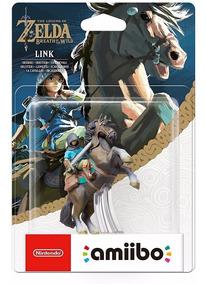 Amiibo Link Rider Link Cavaleiro Zelda Breath Of The Wild