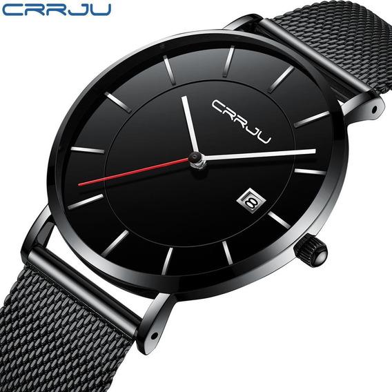 Relógio Crrju 2221- Masculino- Ultra Fino- (pronta Entrega)