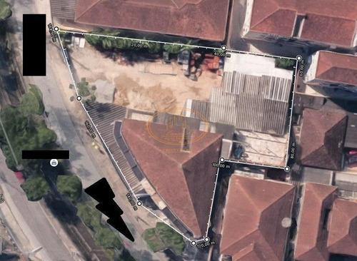 Terreno  Localizado(a) No Bairro Marapé Em Santos / Santos  - 6749