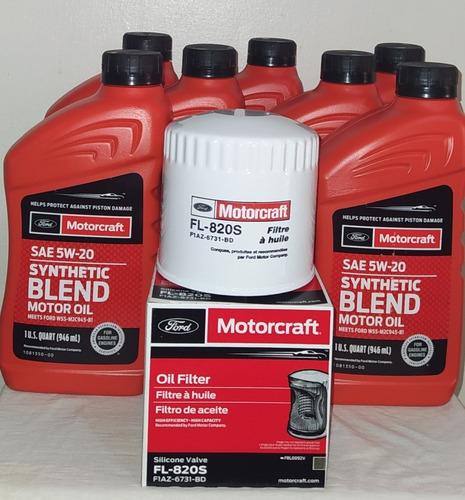 Aceite Semisintetico Original Motorcraft