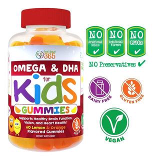 Vitaminas De Gomitas Para Niños / Concentracion / Intelecto