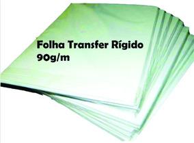 100 Unid Folhas Transfer Rígida - 90g/m