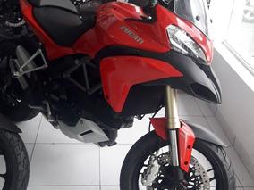 Ducati Multistrada 1200 2014 Verm C\ 24.800 Km Impecavel