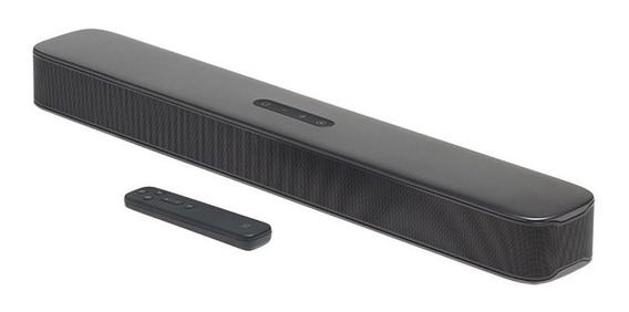 Soundbar All-in-one 2.0 Canais Jbl Design Compacto Preto Blu