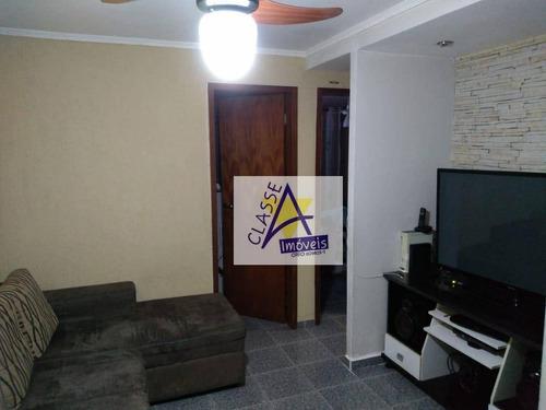 Apartamento À Venda, 47 M² Por R$ 220.000,00 - Santa Terezinha - São Bernardo Do Campo/sp - Ap0682