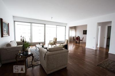 Apartamento No 18º Andar Mobiliado Com 4 Dormitórios E 2 Garagens - Id: 892829039 - 129039