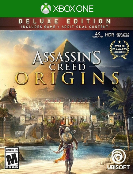 Assassins Creed Origins Deluxe Xbox - 25 Dígitos (envio Flash)