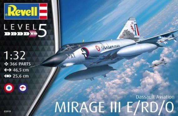 Mirage Iii E/rd/o 1/32 Marca Revell