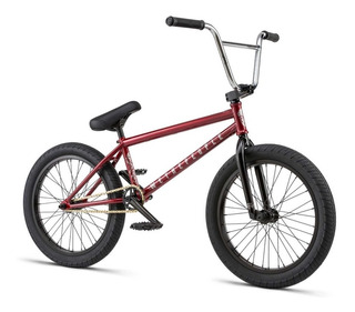 Bicicleta Bmx We The People Crysis ¡full Cromo! Roja