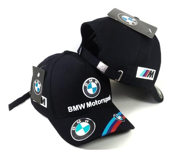 Boné Bmw Motorsport Fita Strapback Fivela Lançamento