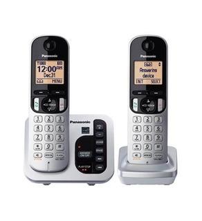 Panasonic Kx-tgc222s/ Kx-dect 6.0 Teléfono Fijo Contestadora