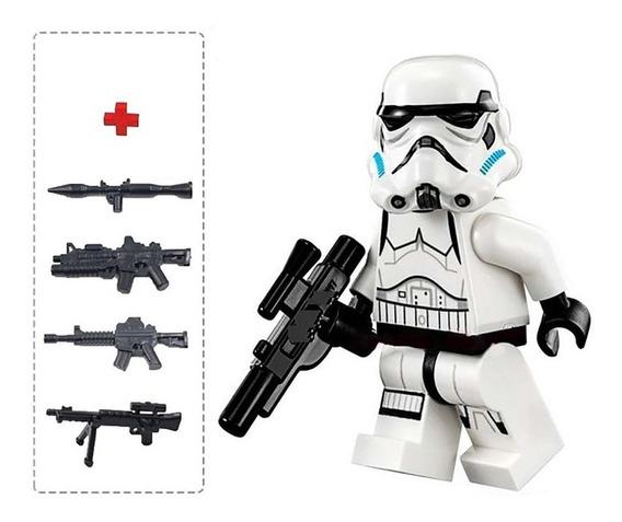 Bonecos De Montar Stormtrooper Star Wars Monta Monta Ws1