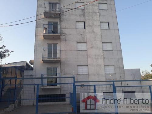 Apartamento 2 Dormitórios Para Locação Em Sorocaba, Jardim Santa Madre Paulina, 2 Dormitórios, 1 Banheiro, 1 Vaga - 665_1-1384473