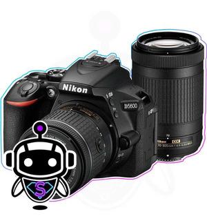 Nikon D7500 + 2 L E N T E S + Memoria 128gb Tripode Maleta !