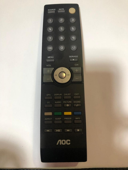 Controle Original Aoc Shp Tv D26w931