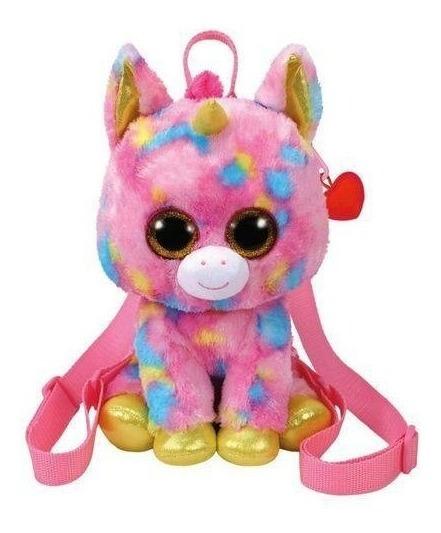 Mochila Infantil Beanie Boos Unicornio