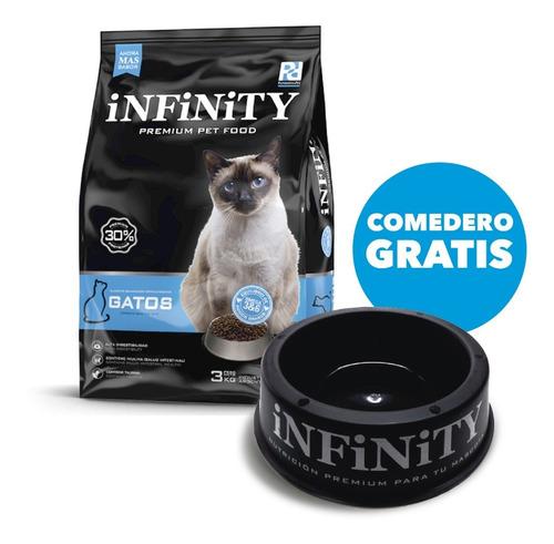 Alimento Gatos Adultos Infinity Premium 3 Kgs